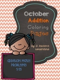October Addition Coloring pages