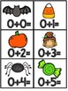 October Addition Fact Fluency Practice