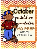 October Addition Printables