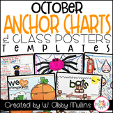 October Anchor Charts and Class Posters