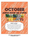 October Audio Book QR Codes