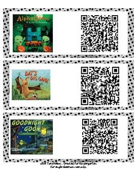 October Audio Book QR Codes