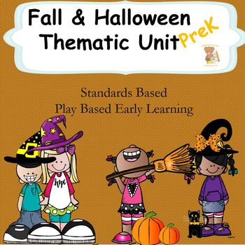 Autumn and Halloween Unit- Prek