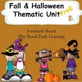 Autumn and Halloween Unit- Prek