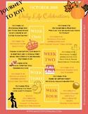October Awareness Days, Fall Celebrations Classroom Poster