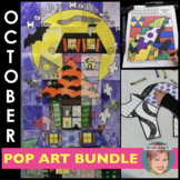 October BUNDLE   4 Art-infused Halloween Activities for yo