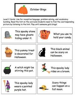October Bingo Game!