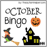 October Bingo Game!