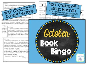 October Book Bingo
