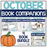 October Book Companion Bundle:  Speech, Language and Literacy