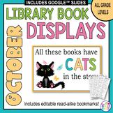 Book Displays: October & Halloween