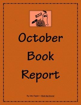 October Book Report