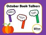 October Book Talkers