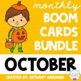 October Boom Cards BUNDLE