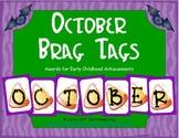 October Brag Tags