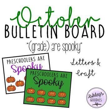 October Bulletin Board Display