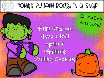 October Bulletin Board in a Snap!