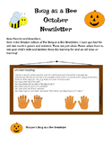 October Busy as a Bee Newsletter