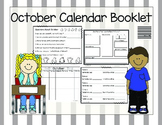 October Calendar Booklet