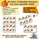 Calendar Keepers for October | Daily Calendar Math and Literacy