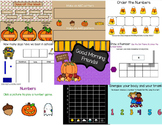October Calendar Math SmartBoard