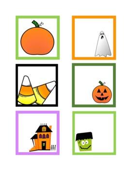 October Calendar Numbers (9 sets)