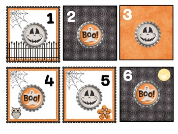 FREE October Calendar Pattern - Great for Algebraic Thinking!