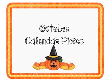 October Calendar Pieces