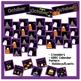 October Calendar Pieces - Black Set