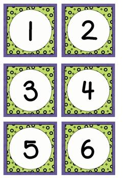 October Calendar Pieces to Use with Your Classroom Calendar