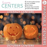October Centers: Second Grade ELA ONLY