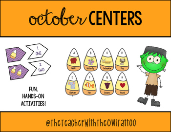 October Centers and Activities