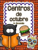 October Centers in Spanish