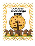 October Challenge Work