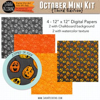 October Clip Art and Mini Design Kit {Third Edition}