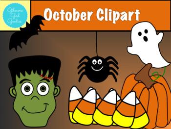October Clipart
