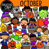 October Clipart {Creative Clips Clipart}