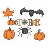 October Clipart | Halloween Graphics