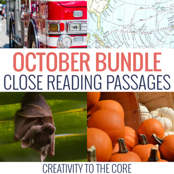 October Close Reading Bundle