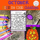 October Color by code Addition