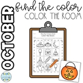 October Color the Room