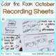 October Color the Room Bundle