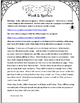 October Common Core Writing Activities for First Grade