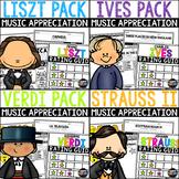 October Composer Bundle for Autumn & Halloween! Franz Liszt and more.