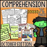 Reading Comprehension Passages & Questions: OCTOBER EDITION
