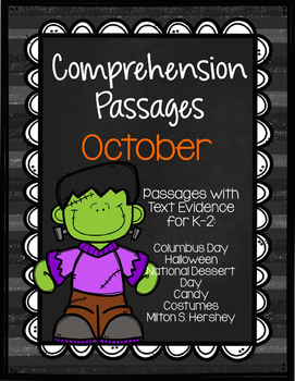 October Comprehension Passages