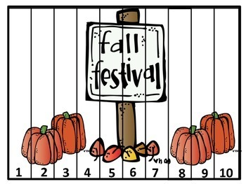 October Counting Puzzles