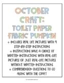 October Craft: Toilet Paper Fabric Pumpkin