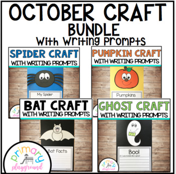 October Craftivities With Writing Prompts/Pages