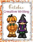 FREE October Creative Writing